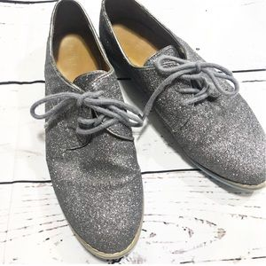 💚 Mossimo Supply Co. Gray Glitter shoes